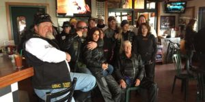 Group photo at Quaker Steak & Lube