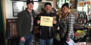 Scott O'Sullivan (contest sponsor), Rich Wilson, Laurie Easton-Montoya
