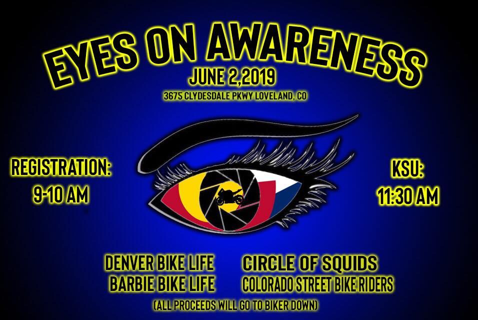 Eyes on Awareness Ride - BikerDown